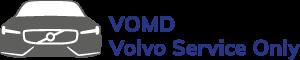 VOMD Volvo Service Only Logo